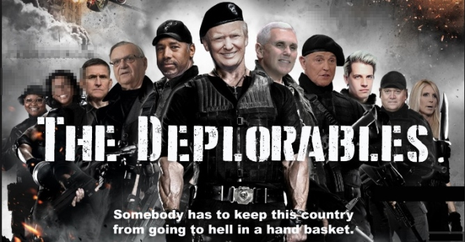We are the deporables