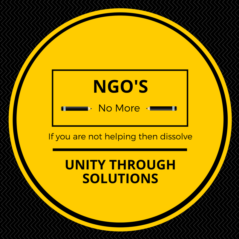 Non-Essential agencies and NGO's must go
