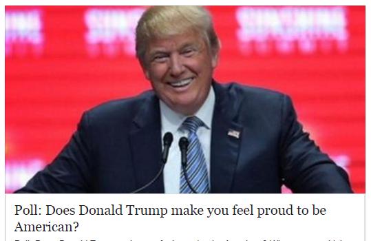 Donald trump Poll