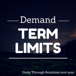 Unity Through Solutions Position Term Limits for our Politicians